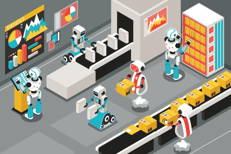Prozessautomatisierung - Illustration